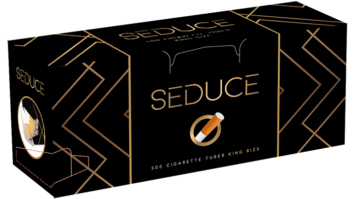 SEDUCE DISPENSER 500 Fantastic way to open the package without destroying the cigarette tubes